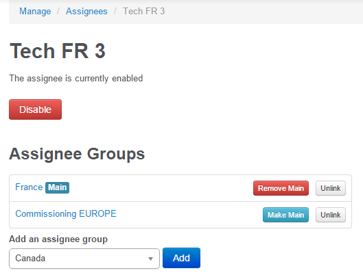 assignees can now belong to multiple assignee groups